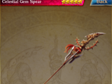 Celestial Gem Spear 062