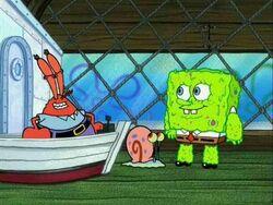 83c Mr. Krabs-Gary-SpongeBob