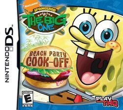SpongeBob vs. The Big One Beach Party Cook-Off Cover