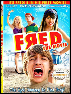 Fred the movie dvd cover