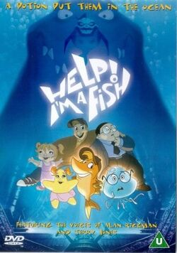 Help! I'm a Fish UK DVD Cover