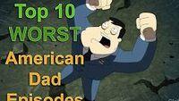 WorstAmericanDadEpisodes