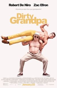 Dirty Grandpa teaser poster