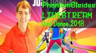 Just Dance 2018 LiveStream for AFSP