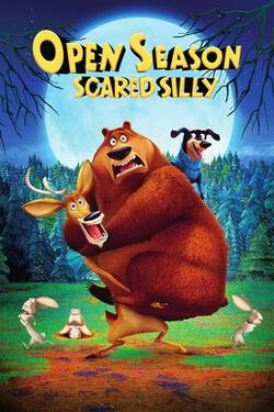 Open Season Scared Silly (2016) DVD Cover