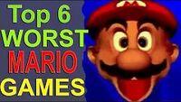 WorstMarioGames