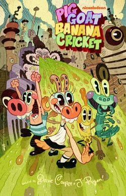 Pig Goat Banana Cricket poster
