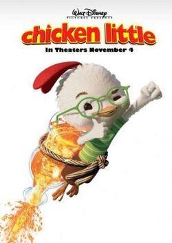 Chicken Little Disney 2005 Poster