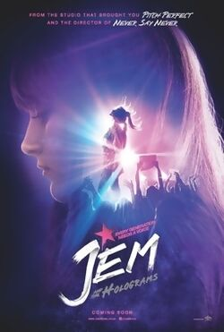 Jem Movie Teaser Poster