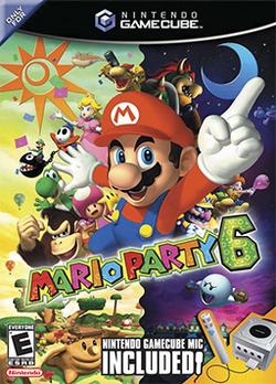 Mario Party 6 Coverart