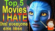 Top5MoviesIHateEveryoneLikes