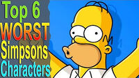 Top6WorstSimpsonsCharacters