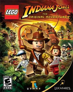 Lego Indiana Jones cover