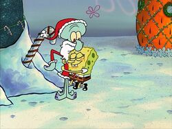 Squidward-Santa