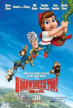 Hoodwinked too poster