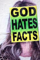 God hates facts