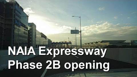 NAIA Expressway Phase 2B opening 12.21.2016