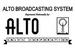 Alto Broadcasting System Logo 1953