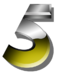 ABC Numerical 5 Logo (1992-2004)