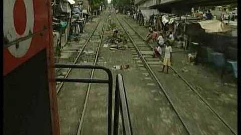 Chaos on the railways Manila Philippines
