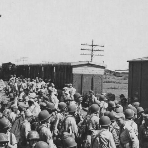 Pasay Road station 1945