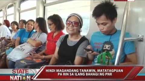 SONA - Mga tren sa Pinas, may ipinagbago ba? 05 12 11