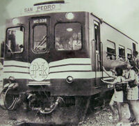 Metro Manila Commuter Service San Pedro