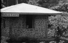 MRR Banga Caves station 1934
