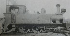 Batangas locomotive