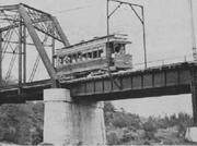 Pasig tram bridge