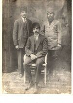424px-Mansour Ansari and Afghan ammbasedor in Turkey