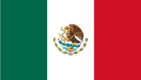 Flag of Mexico 100px