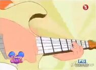 Close-up of Phineas' guitar from Last Day of Summer