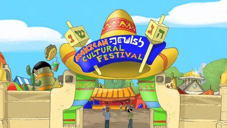 Entrata festival messicano