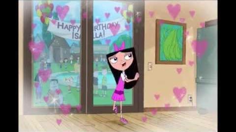 Fineasz i Ferb - Urodzinowa piosenka Izabeli