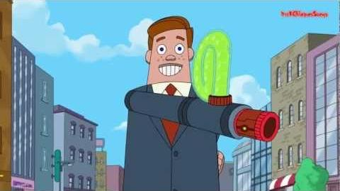 Phineas and Ferb - Weaponry