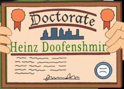 Doof dottorato