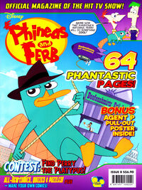 Phineas and Ferb (magazine)/May and June 2012