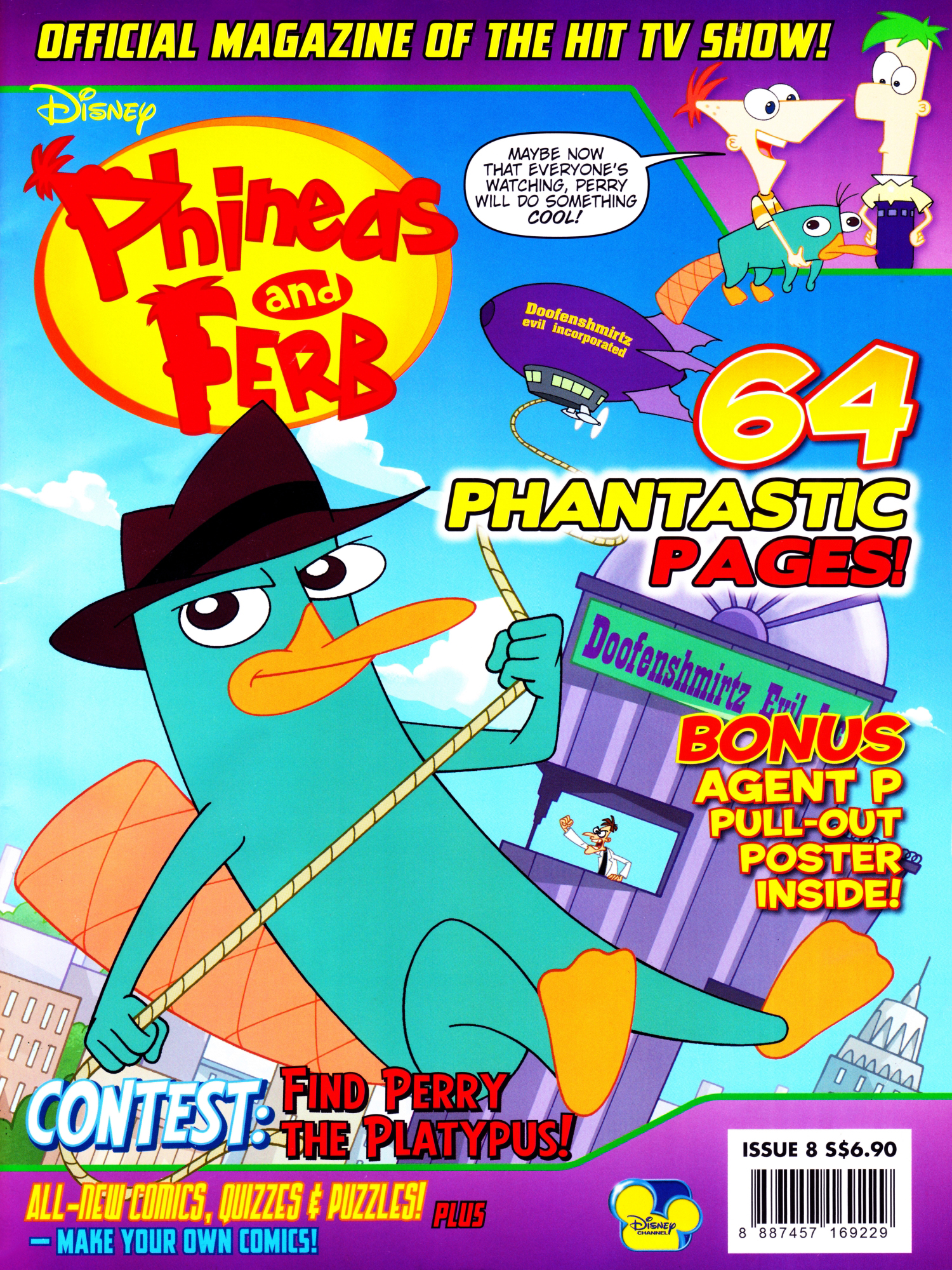 Phineas and Ferb (magazine)/May and June 2012 | Phineas ...