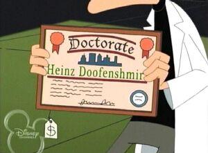 Fake Doctorate certificate