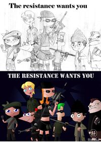 The resistance wants you -- combined, by Helihi