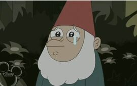 Young Gnome Heinz crying