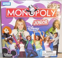 Monopoly Junior - Disney Channel Edition front cover