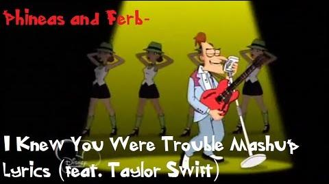 Perry and Doof - I Knew You Were Trouble Music Video Mashup –- Disney Channel Official