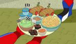 Lald002 Race themed snacks