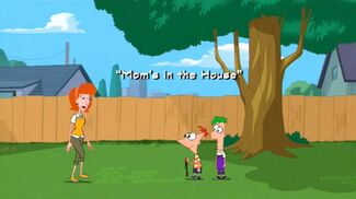 Mom's in the House title card