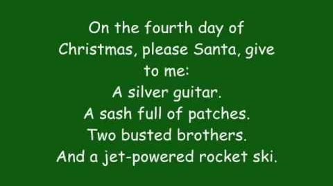 Phineas And Ferb - 12 Days Of Christmas Lyrics (HQ)