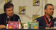 Dan Povenmire and Swampy Marsh (2009)