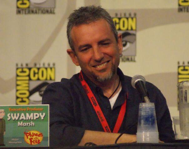 ファイル:Swampy Marsh Comic-Con 2009.jpg