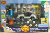 Ferb My Ride - Agent P's Hovercraft front